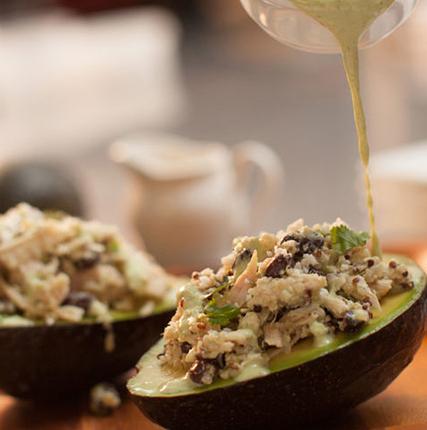 Creamy Chicken Habanero Salad