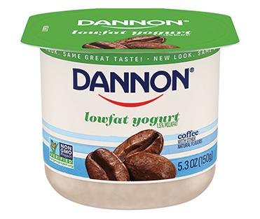 Dannon Lowfat Yogurt, Coffee 5.3oz