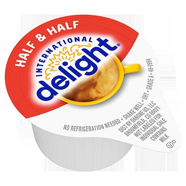 International Delight Coffee Creamer Single, Half & Half