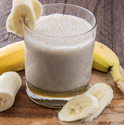 Nanners and Nutella Smoothie