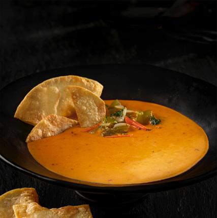 Vegan Cheddar Queso With Tomatillo Sofrito