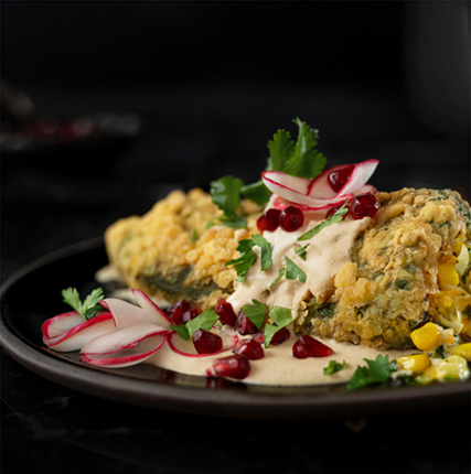 Chile Relleno With Walnut Sauce