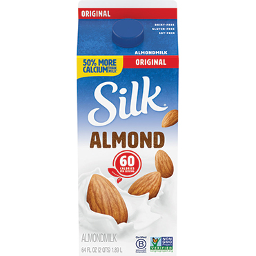 Silk Almondmilk, Original 64oz