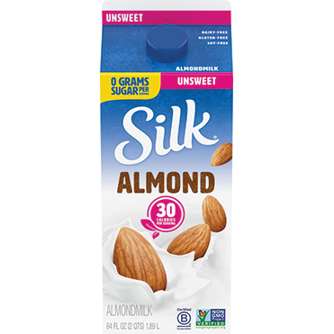 Silk Almondmilk, Unsweetened 64oz