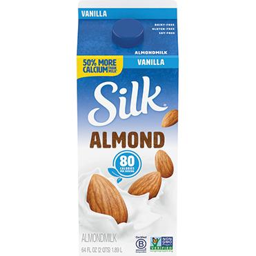 Silk Almondmilk, Vanilla 64oz