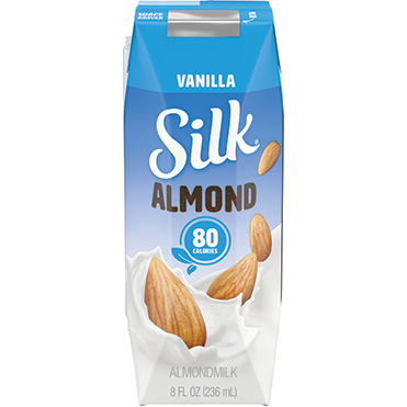 Silk Vanilla Almondmilk Single Serve, 8oz