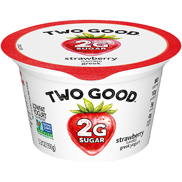 Two Good™ Greek Lowfat Yogurt, Strawberry 5.3 oz